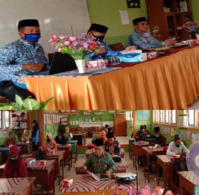 Melalui Kasi Madrasah, Rakor Kepala Madrasah Swasta Dilingkungan Kantor Kemenag Batang Hari