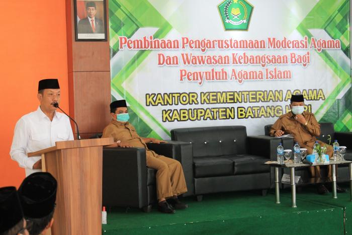 Bersama Kanwil Provinsi Jambi, Kemenag Batang Hari Adakan Pembinaan Modernisasi Agama Bagi Penyuluh Agama Islam