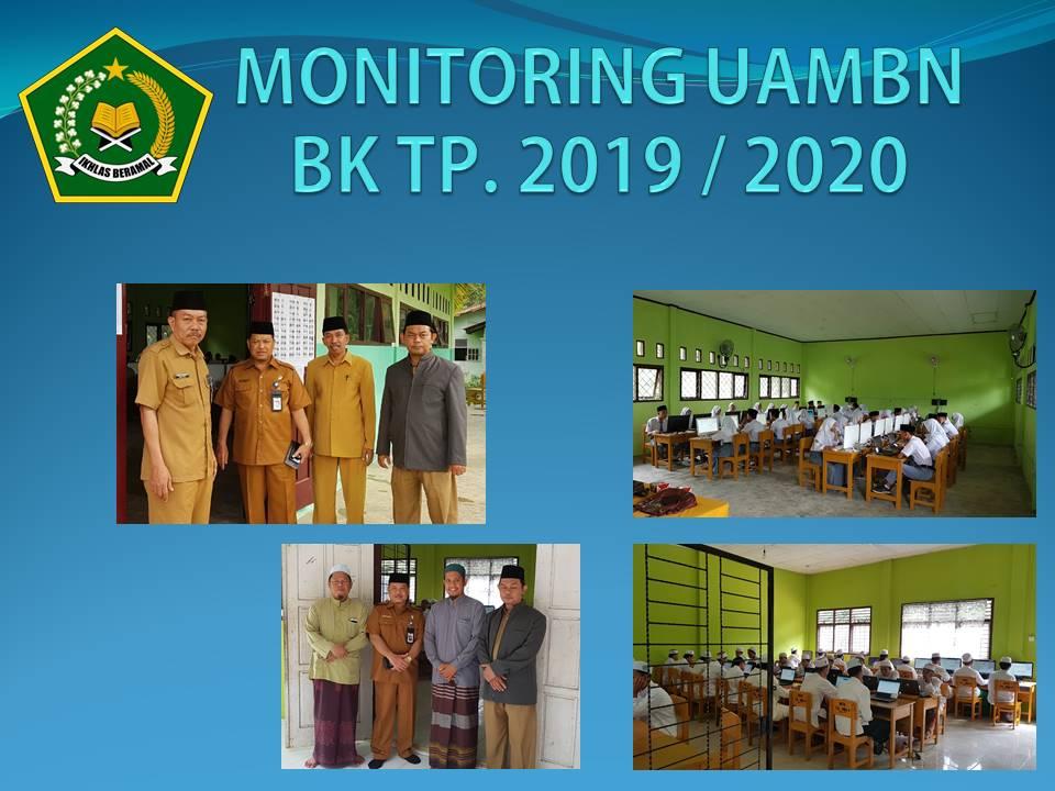 Monitoring UAMBN BK